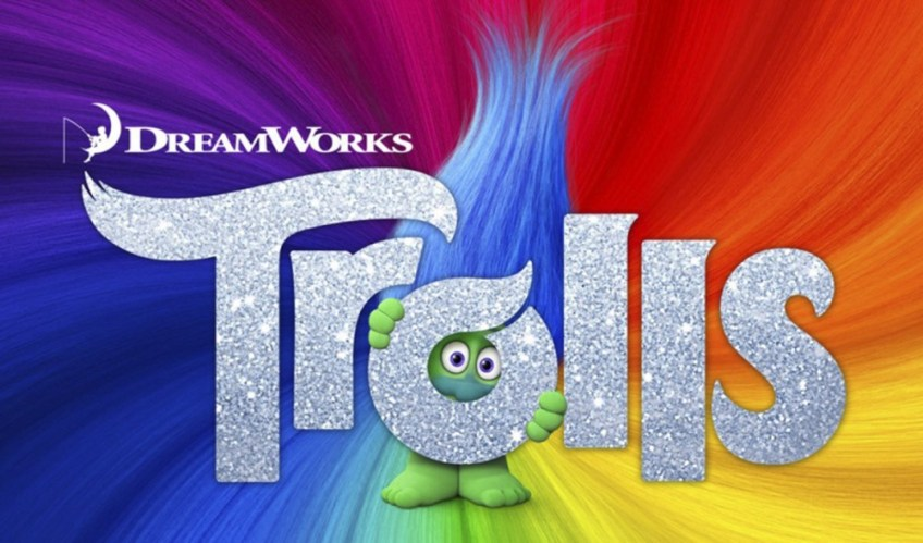 trolls poster, trolls movie, trolls movie review