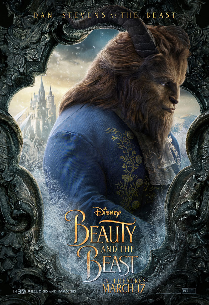 Beauty and the Beast Poster, Beast