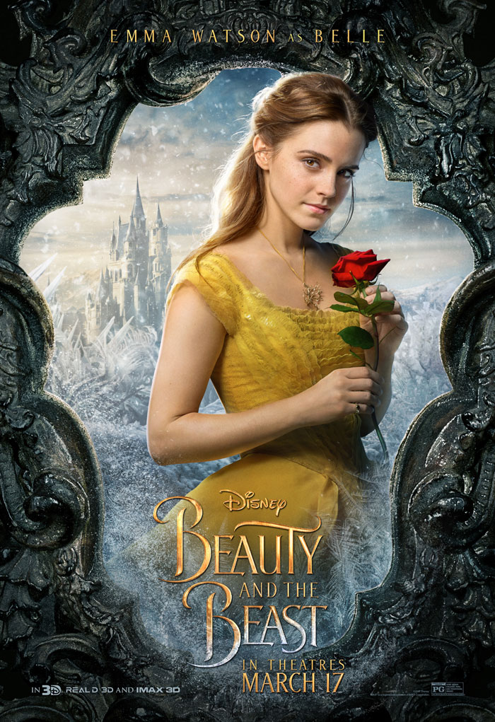 Beauty and the Beast Belle Poster, Belle