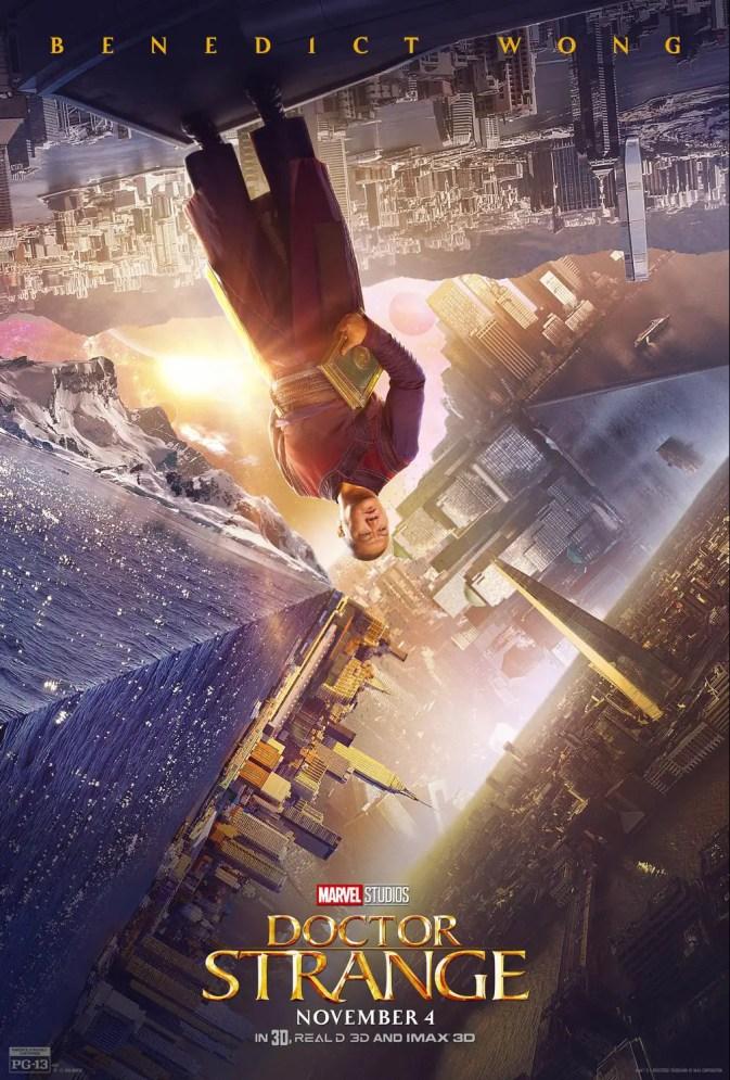 Benedict Wong, Interview, Wong, Doctor Strange