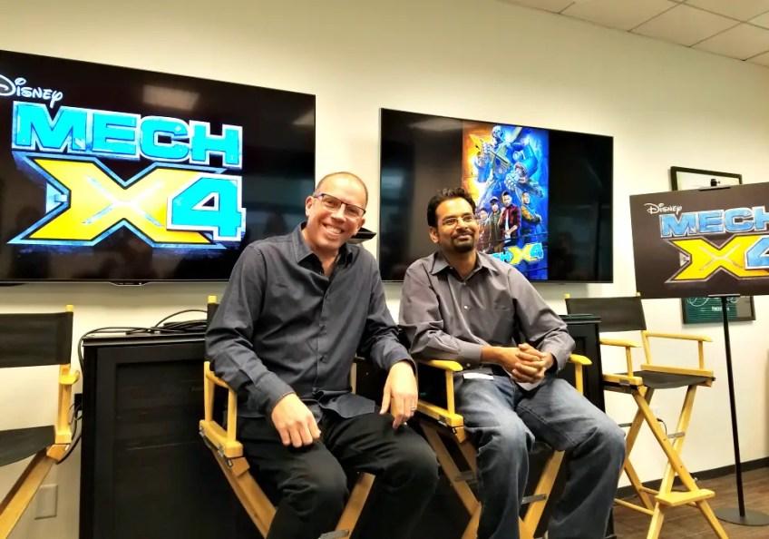 MECH X4, creators