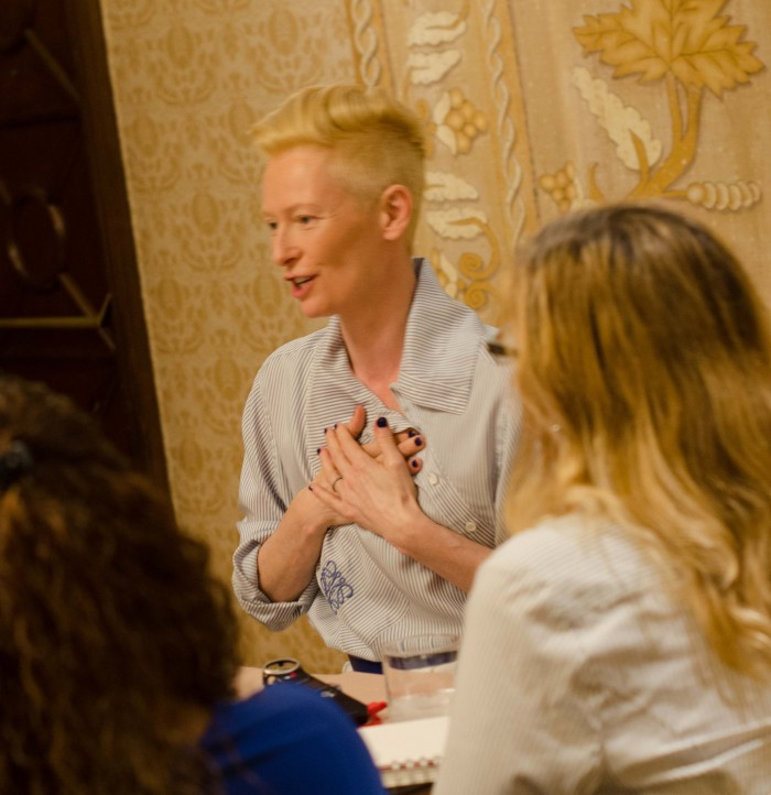 Tilda Swinton, Doctor Strange, interview