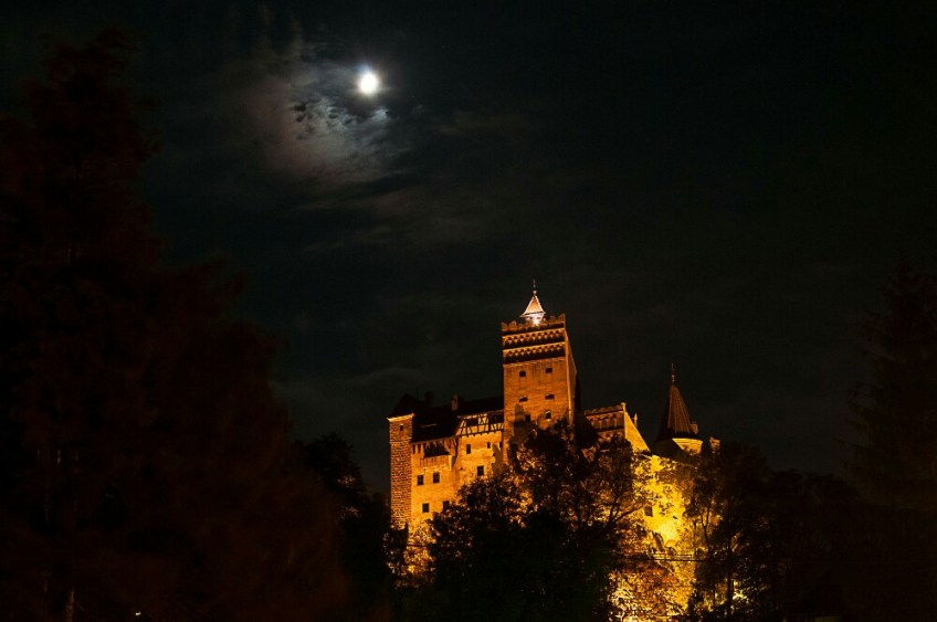world famous landmarks, bran castle