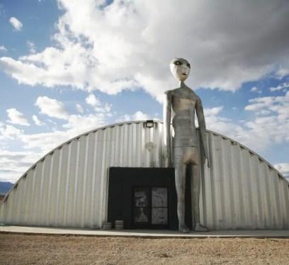 unique road trips, UFO locations