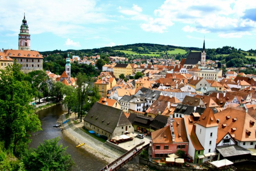Cesky Krumlov, Czech Republic, magical places in europe