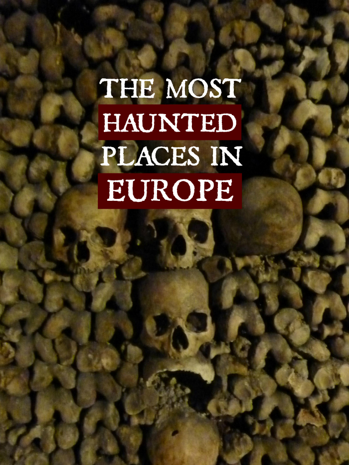 Most Haunted Places in Europe pin