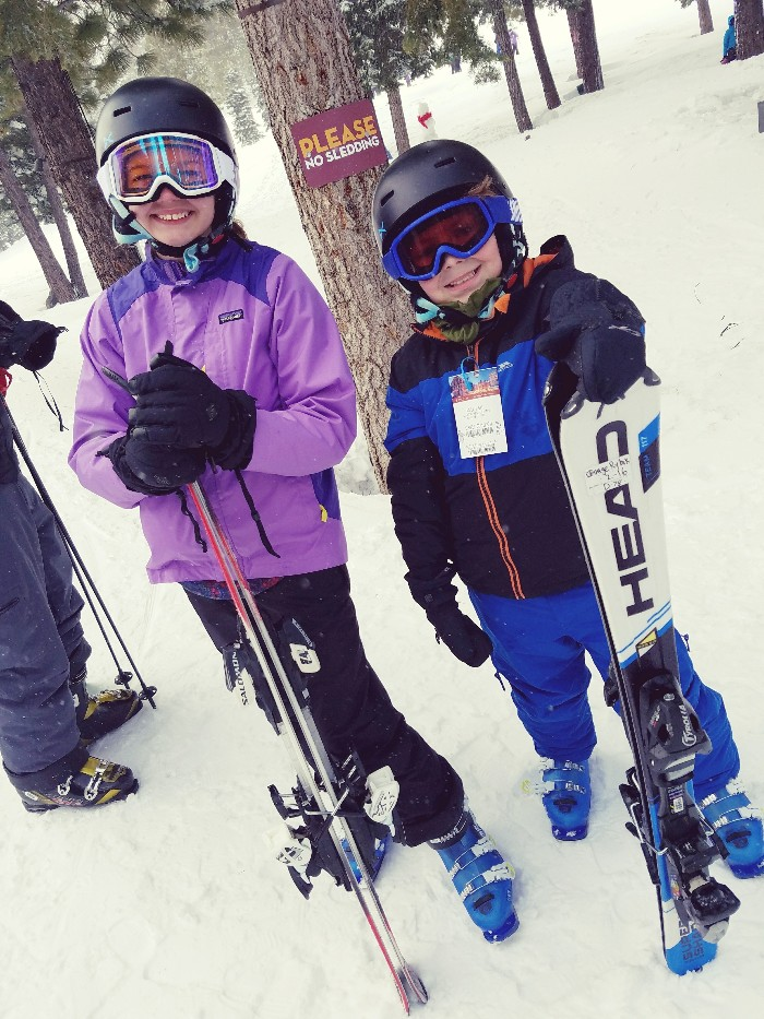 skiing for the first time, gauge rybak, paris fauquet