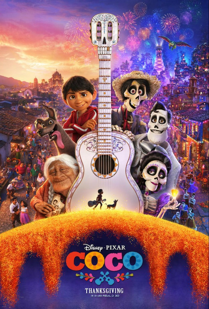 Coco image, poster, trailer