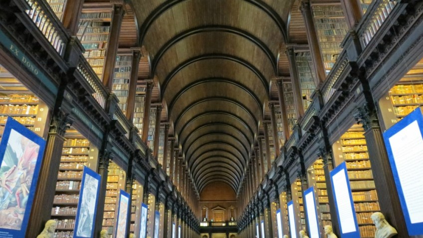 Trinity College , St. Patrick's Day Holiday, Dublin, Long Library