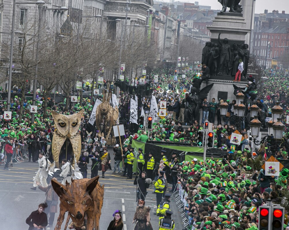St. Patrick's Day Holiday, Dublin,