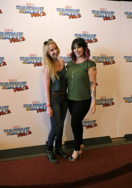 Christa Thompson, Emma Loggins, Guardians of the Galaxy Volume 2 Atlanta Premiere