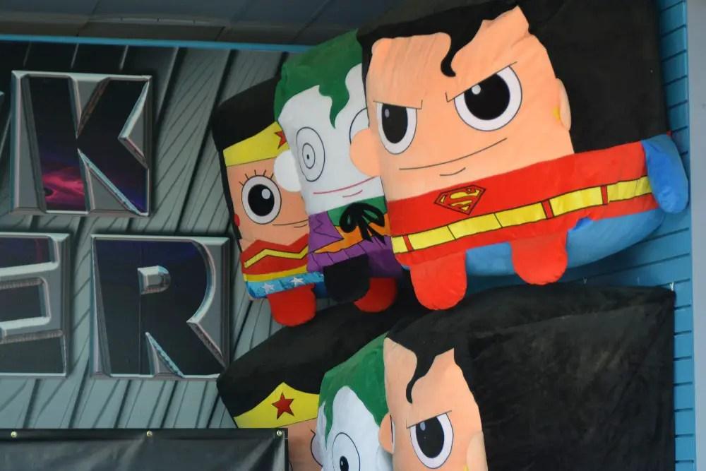Battle for Metropolis Review, justice league plush
