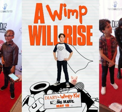 Diary of a Wimpy Kid: The Long Haul Atlanta Premiere Interviews, Jason Drucker, Charlie Wright, Jeff Kinney, Gauge Rybak, Kid Friendly, KidFriendlyTV