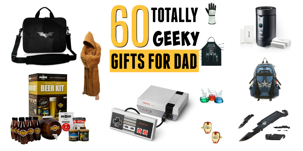 60 Geek Gifts For Dad   Fatheru0027s Day Gift Ideas