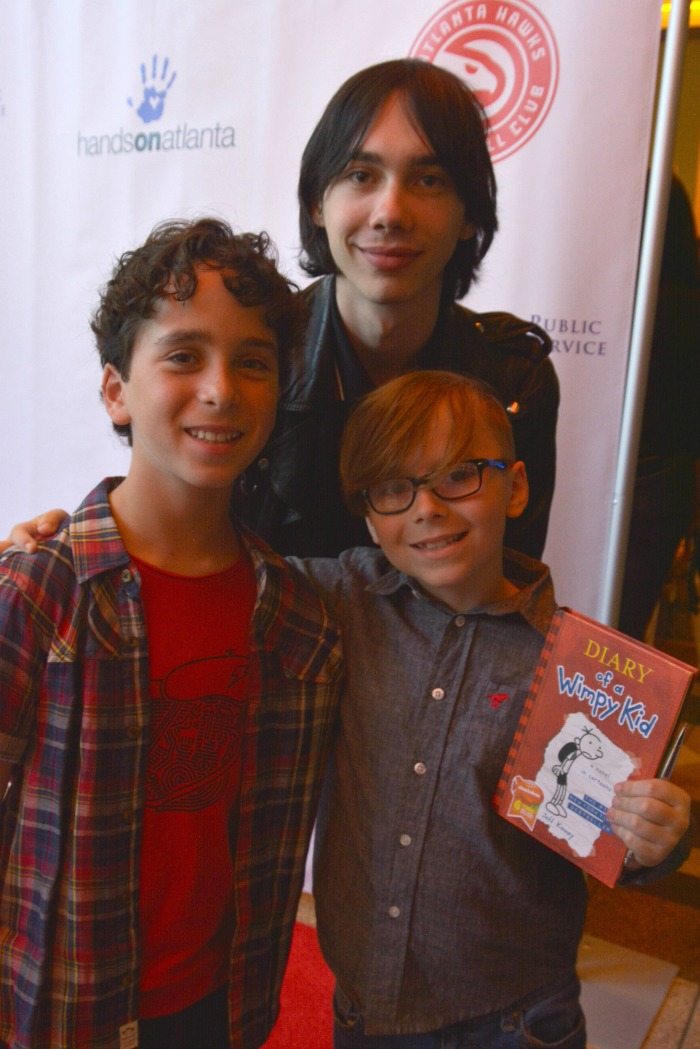 Diary of a Wimpy Kid: The Long Haul Atlanta Premiere Interviews, Jason Drucker, Charlie Wright, Gauge Rybak, Kid Friendly, KidFriendlyTV