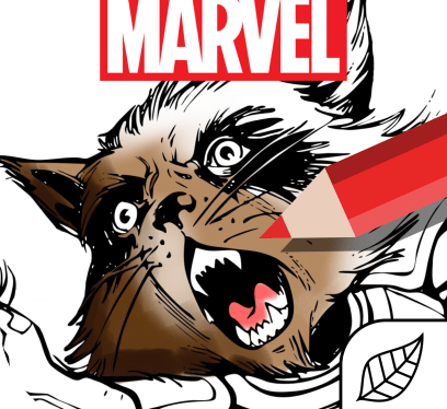 Marvel Color Your Own App
