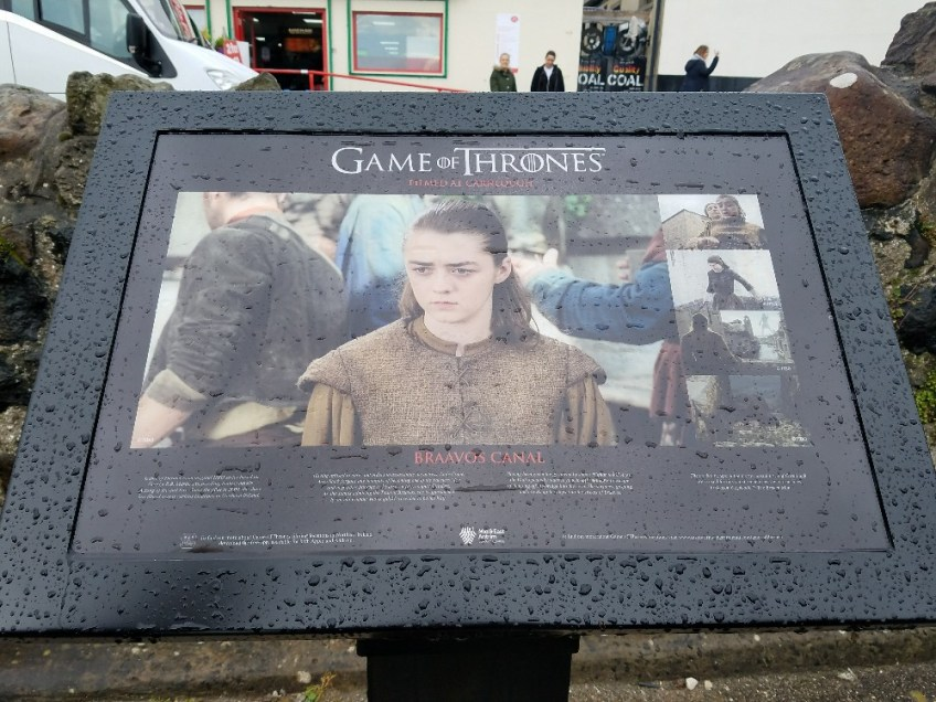 Game of thrones filming locations in northern ireland, braavos, arya stark, in water