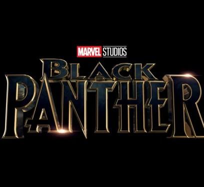 Black Panther Film Title Poster