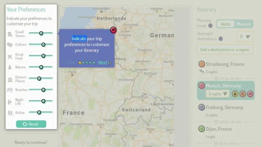 trip planning tool