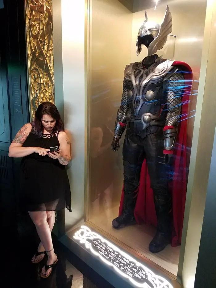 Marvel Avengers STATION Las Vegas review, Christa Thompson