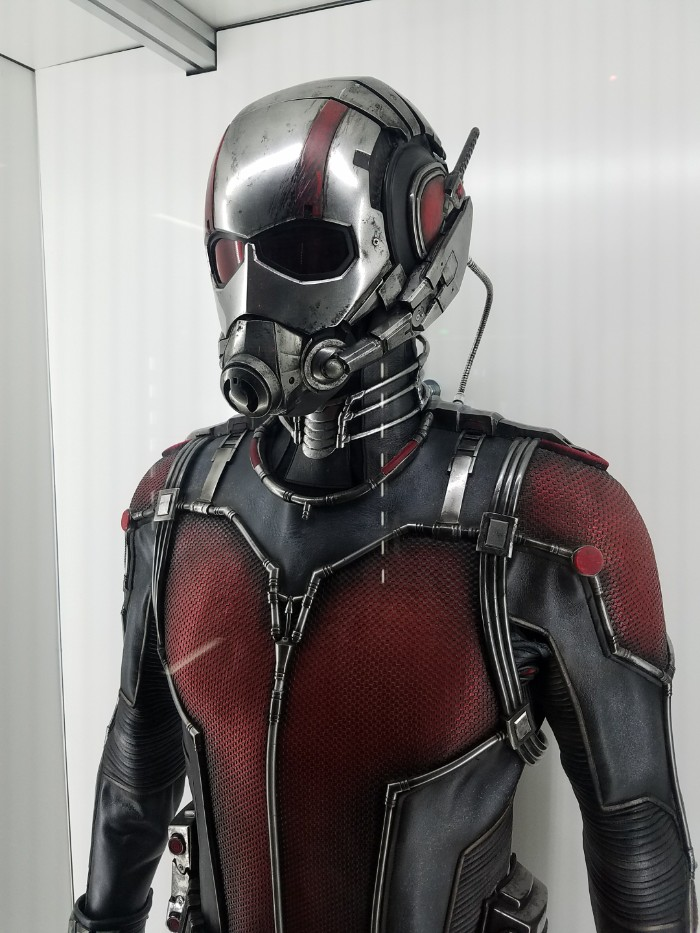 Marvel Avengers STATION Las Vegas review, Ant-Man Costume