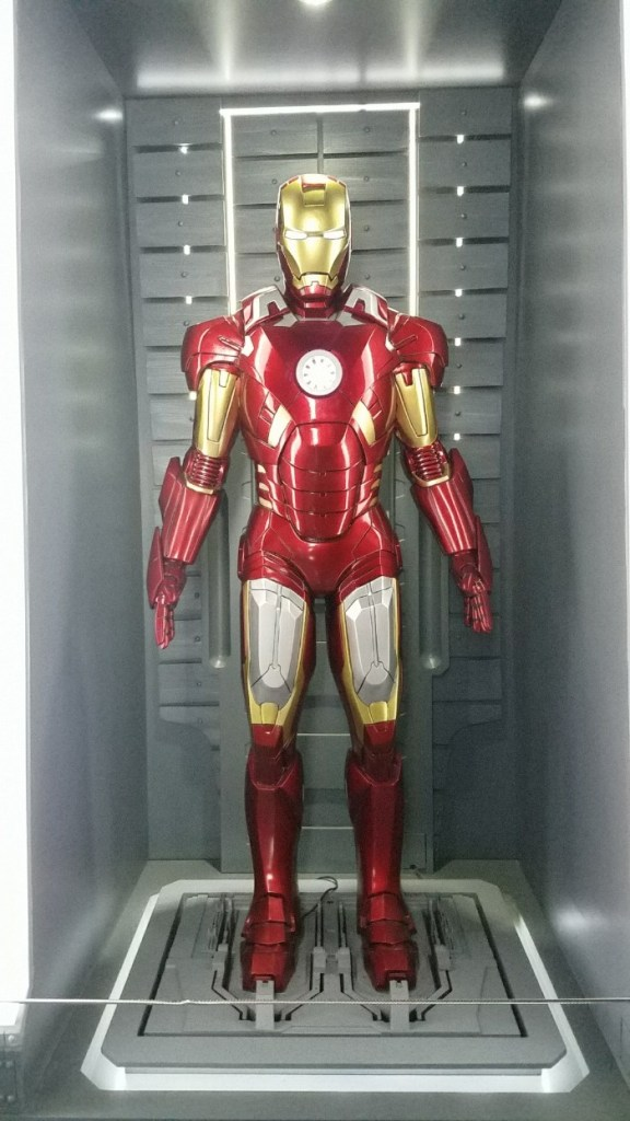 Marvel Avengers STATION Las Vegas review, Iron Man costume
