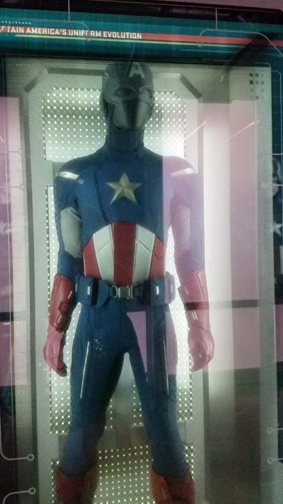 Marvel Avengers STATION Las Vegas review, Captain America Costume