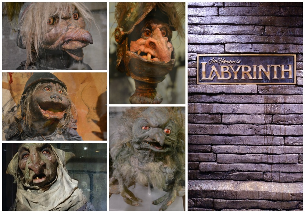 Geeky things to do in Atlanta, Center for Puppetry Arts, The Labyrinth, props