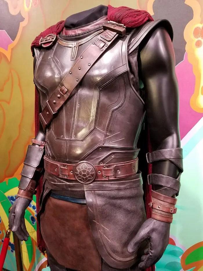 Thor: Ragnarok LA Premiere, Thor's costume in Thor: Ragnarok