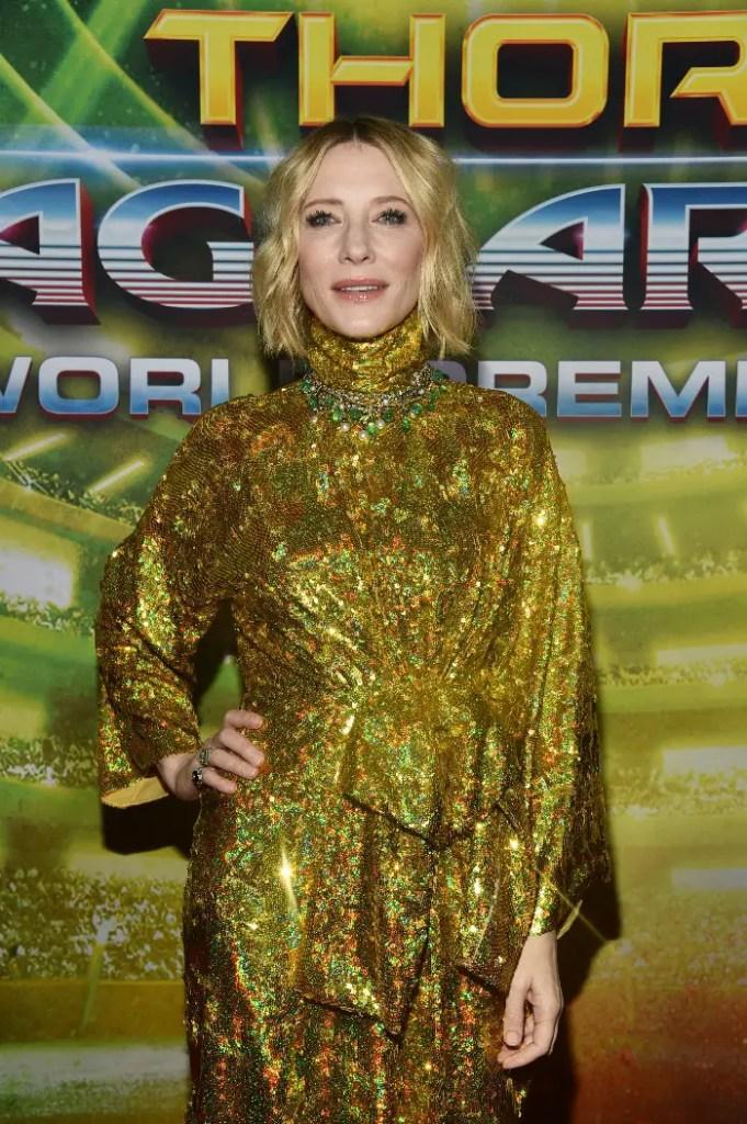 Thor: Ragnarok LA Premiere, Cate Blanchett