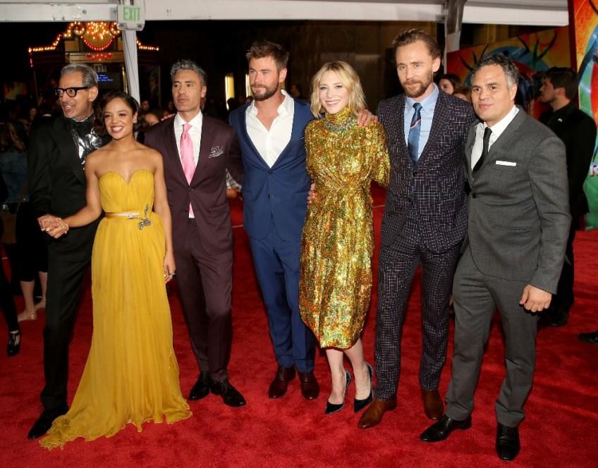 Thor: Ragnarok LA Premiere, cast