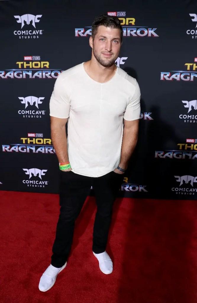 Thor: Ragnarok LA Premiere, Tim Tebow