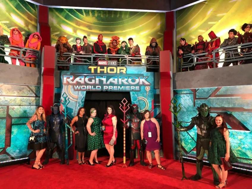Thor: Ragnarok LA Premiere, Christa Thompson