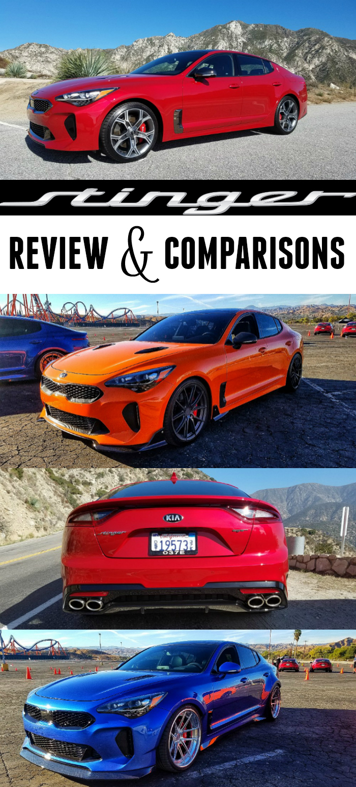 Kia Stinger GT, Kia Stinger, Kia Stinger Price, Kia Stinger Review and Comparisons