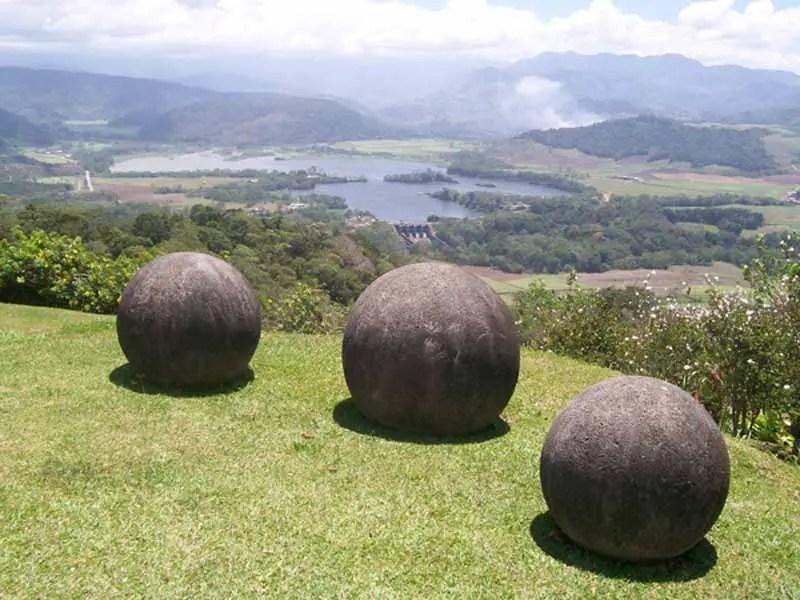 Giant Stone Balls