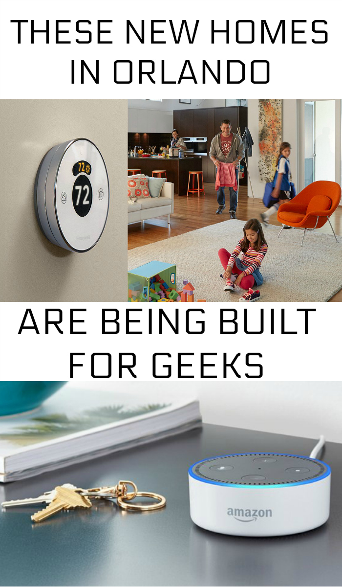 Lennar Homes Orlando are homes made for geeks