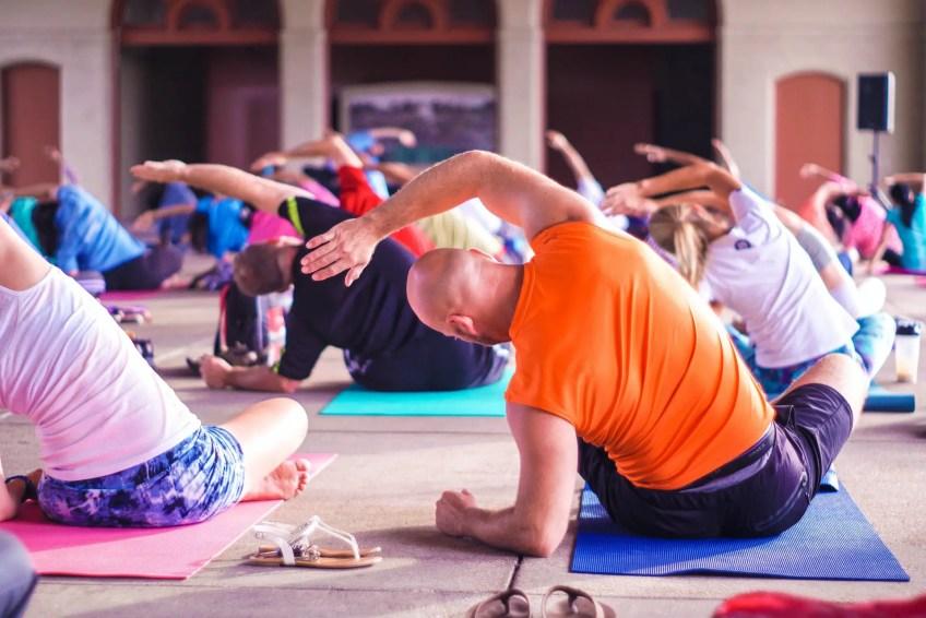 Yoga class Fitness class