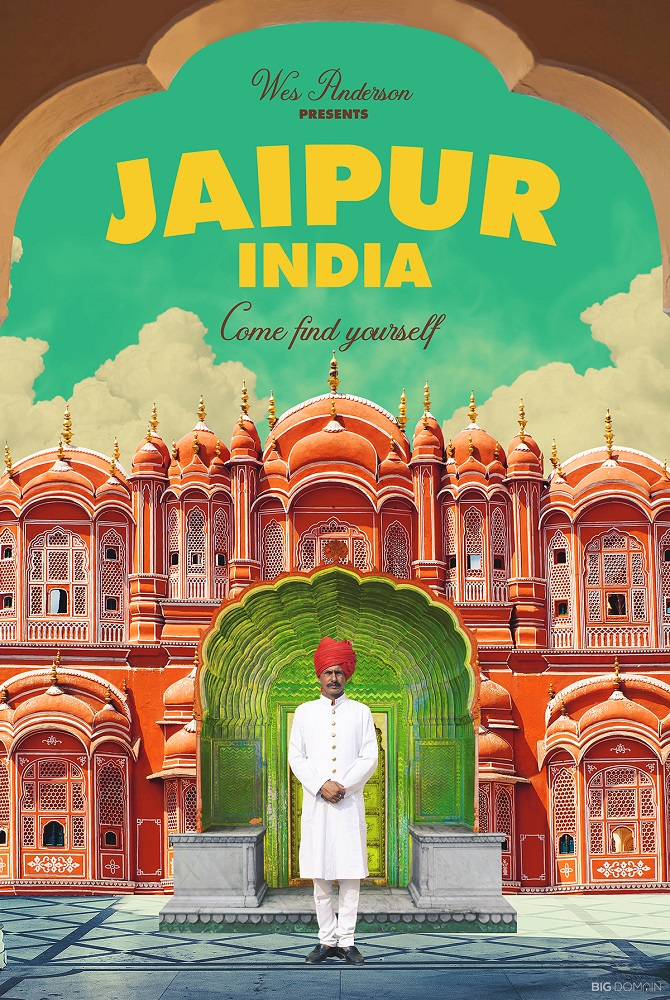 WES ANDERSON, jAIPUR, INDIA