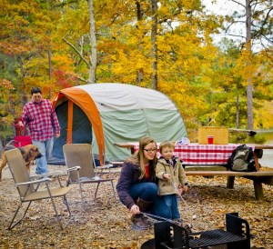 Fall in Georgia State Parks - FDR Camping, Cooking While Camping