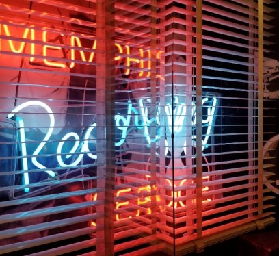 Sun Studio Memphis Recording neon sign