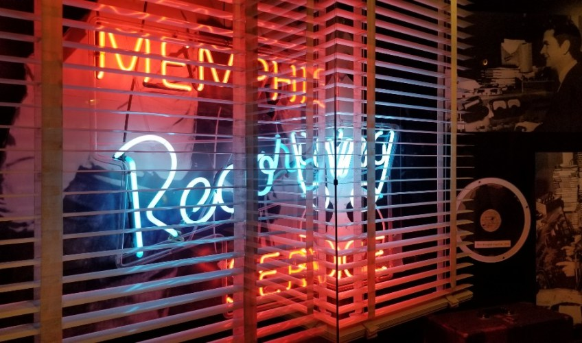 Sun Studio Memphis Recording neon sign