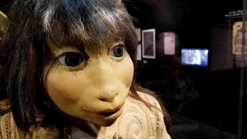Jen Puppet from The Dark Crystal film