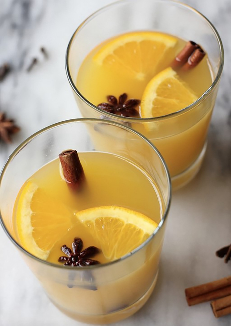 holiday cocktail ideas Santa Margherita Orange Cocktail