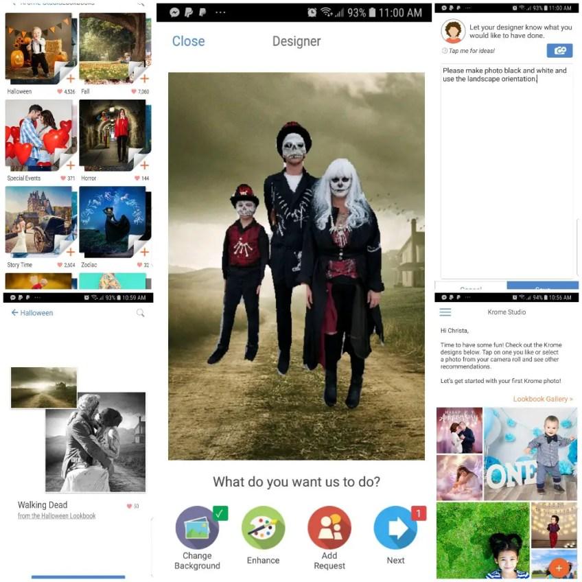 Halloween favorites, Krome studio app