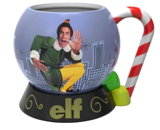 Elf mug, Elf the movie, movie night with the neighbors, christmas get together, best christmas movies