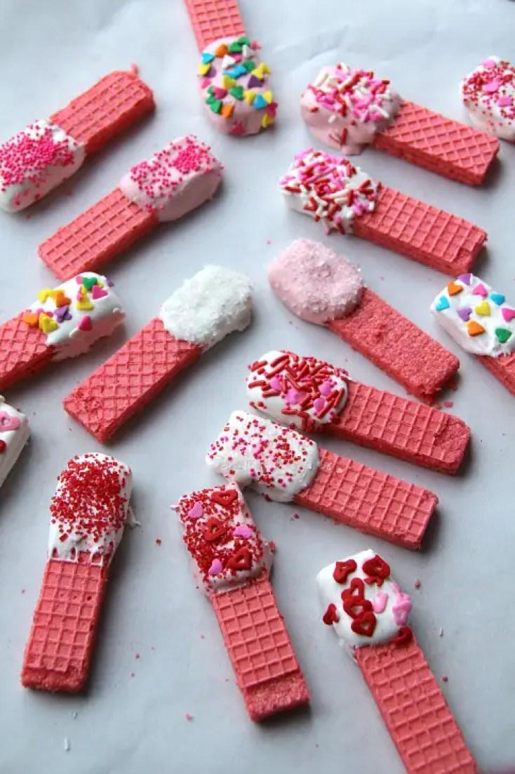 valentine's day ideas, easy valentine's cookies