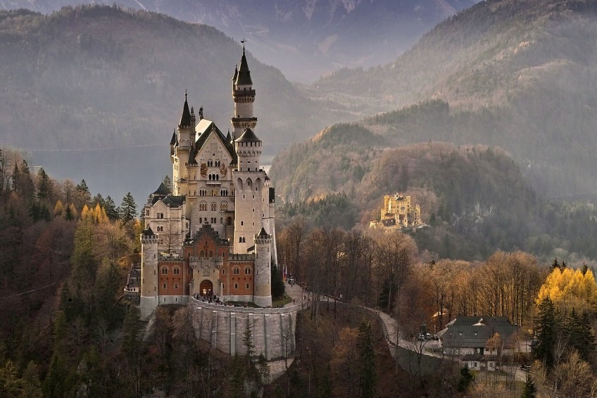 magical places, neuschwanstein castle, travel