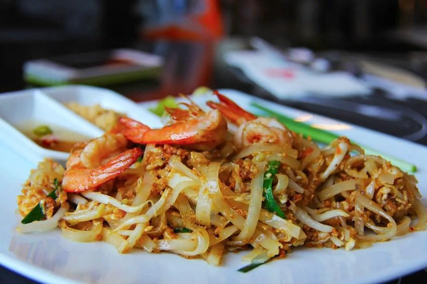 Travel to Thailand in summer, Bangkok food