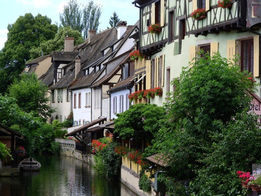 medieval towns in Europe, Colmar France