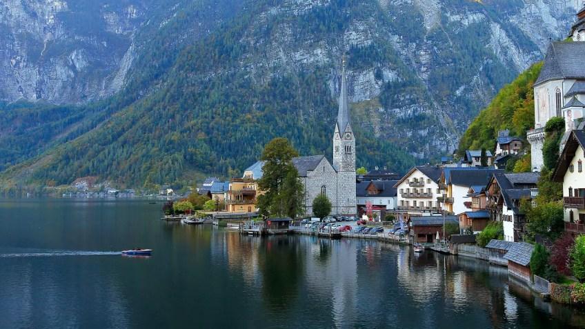 Hallstatt, Austria, Medieval Towns in Europe